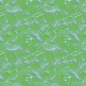 green/cyan haz