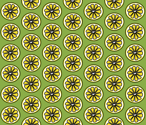 When Life Gives You Lemons fabric by whimzwhirled on Spoonflower - custom fabric