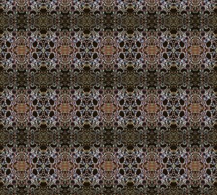 crystal mandala fabric by nicodurocher on Spoonflower - custom fabric