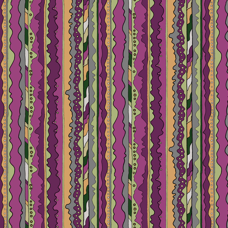 Sight Lines (Dark) fabric by especiallycreativebroad on Spoonflower - custom fabric