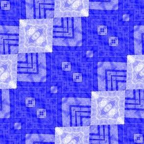 Patchwork: Squarely Slanted No. 2
