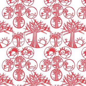 Pastoral Papercut