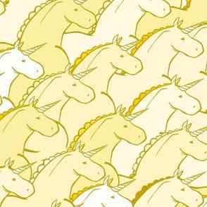 Chubby Golden Unicorns
