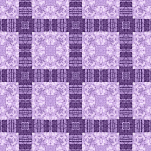 Patchwork: Purple Simplicity