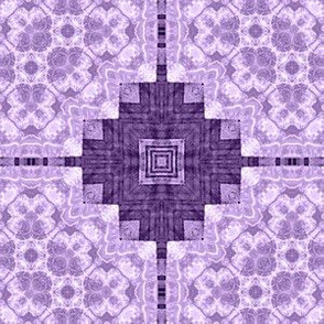 Patchwork: Lacy Purple