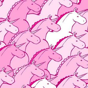 Chubby Pink Unicorns