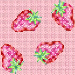 Strawberries, ripe strawberries!