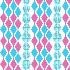 Nicole's Argyle Stripe