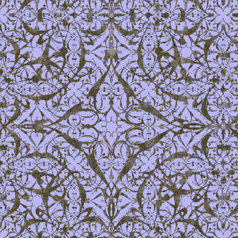 Ornamental Damask ~ Regency fabric by peacoquettedesigns on Spoonflower - custom fabric