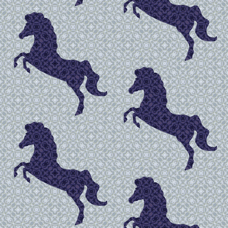 My Not So Little Pony fabric by phosfene on Spoonflower - custom fabric