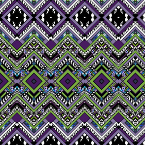 Purple People Eater Chevron