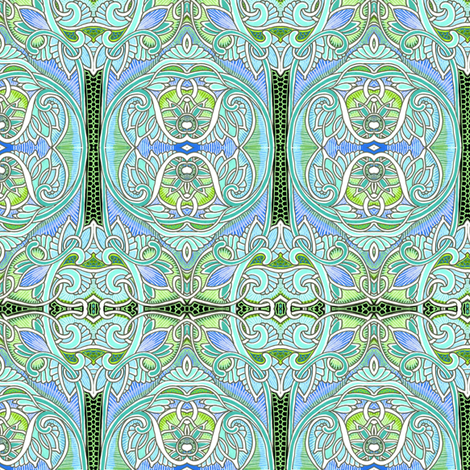 Zipper de Doo Dah fabric by edsel2084 on Spoonflower - custom fabric