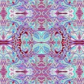 Lizard Skin Paisley Tangle
