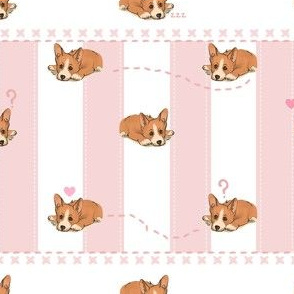 Baby Corgi Pattern
