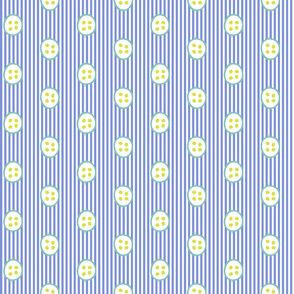 Lunaria Periwinkle Stripe