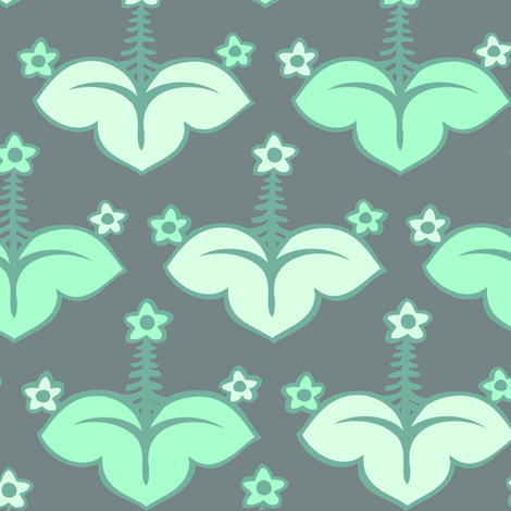 flower 4 fabric by craftyscientists on Spoonflower - custom fabric