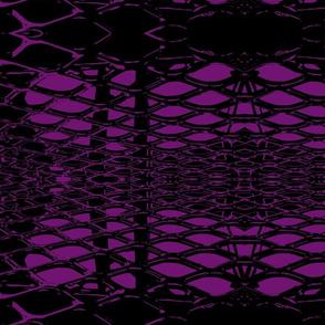 Retro Lace Large- Grape