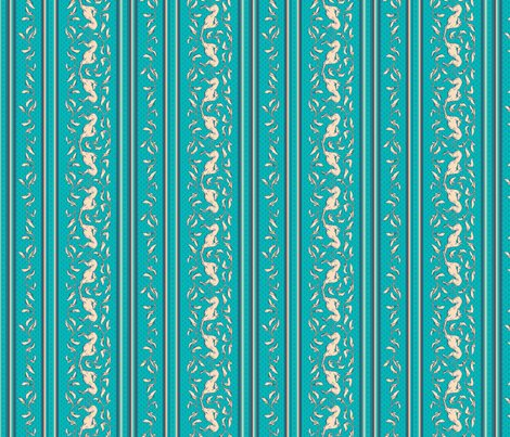 Art_nouveau_yardage_teal_cream_shop_preview