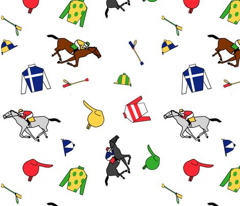 Derby Days fabric by ragan on Spoonflower - custom fabric
