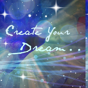 Create Your Dream #6 blue stars