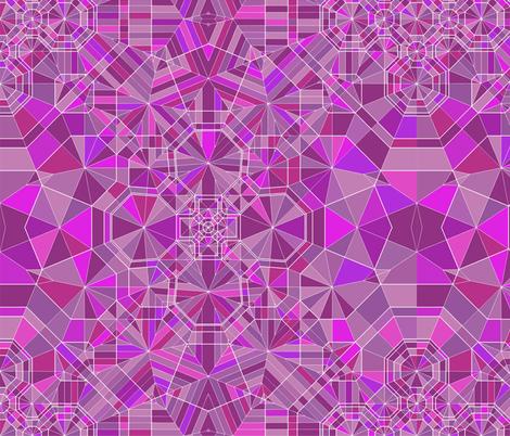 Amethyst fabric by candyjoyce on Spoonflower - custom fabric