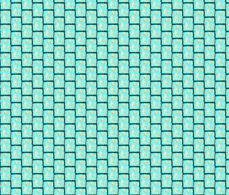 Turquoise trail fabric by ancsa on Spoonflower - custom fabric