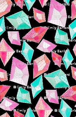 Watercolor Pattern Gemstones