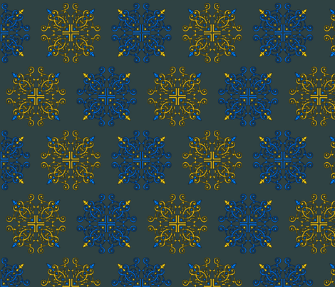 favdesigngrey fabric by craftyscientists on Spoonflower - custom fabric