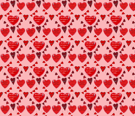 Poorhearts fabric by chovy on Spoonflower - custom fabric