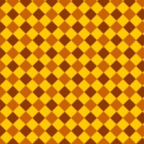 check brown-yellow