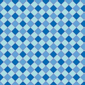 check blue