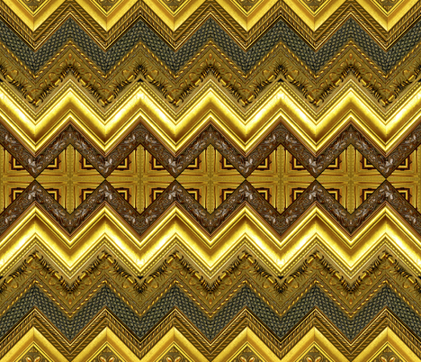 Frame Chevron fabric by whimzwhirled on Spoonflower - custom fabric