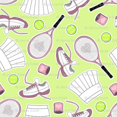 Tennis Love - Green