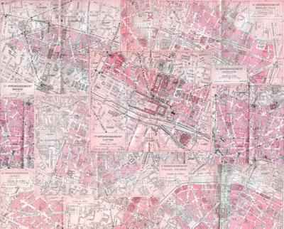 Paris City of Love Maps