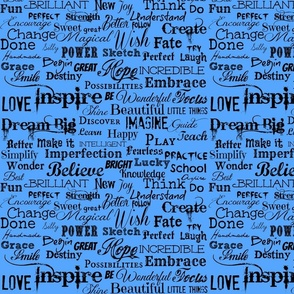 luckyhanks's blue Inspire