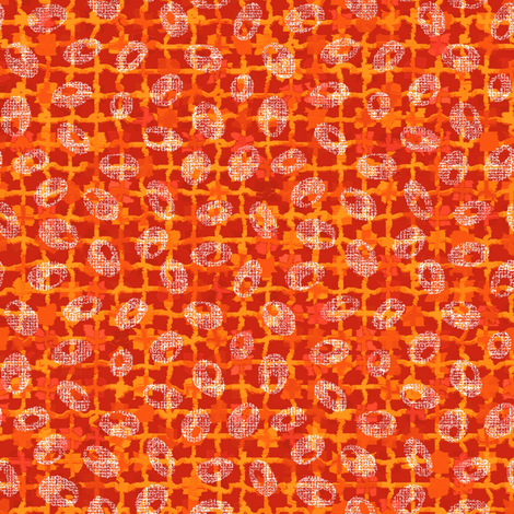 marigold seeds fabric by keweenawchris on Spoonflower - custom fabric