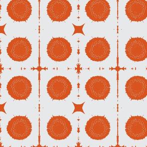 XOXO/white & orange