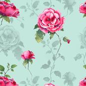 Floral Fairytale - Mint