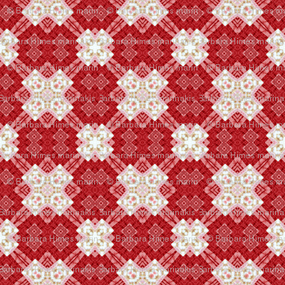 Patchwork: Multiplier Effect - Red