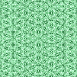 Patchwork: Snowy Green