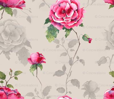 Floral Fairytale - Neutral