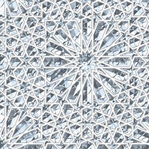Geometric gemstones (quartz)
