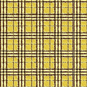 RETRO YELLOW PLAID