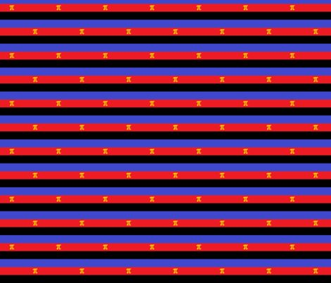 Polyamory Pride Stripes (staggered) wallpaper