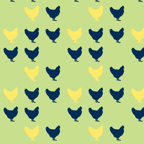 navy hens