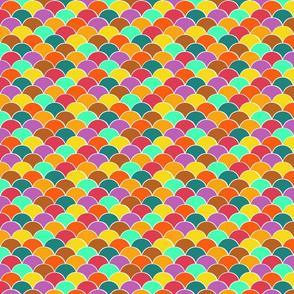 Pastel harlequin scales