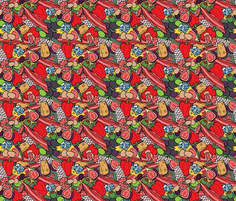 Charcutie fabric by rosalarian on Spoonflower - custom fabric