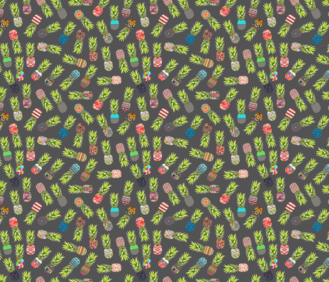Pineapple Party fabric by biancagreen on Spoonflower - custom fabric