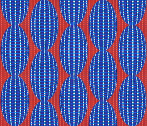 Offset Opals fabric by carlyn_clark on Spoonflower - custom fabric