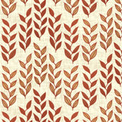 Minoan grasses on milk cream weave by Su_G
